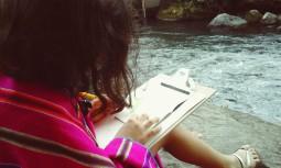 valen y el rio