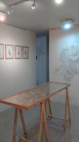 Exposición de Erick Marín Espinoza